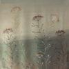 """Платок шелковый """"Травы туманные"""""""
